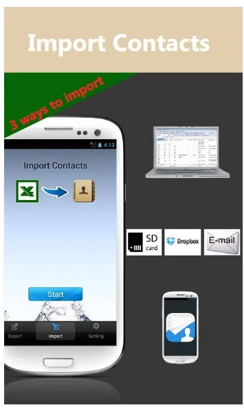 SA Contacts Lite APK for Android