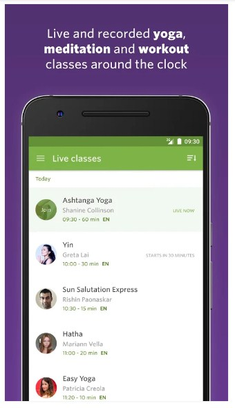 Yoga Classes APK for Android