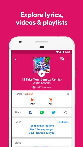 Shazam APK for Android