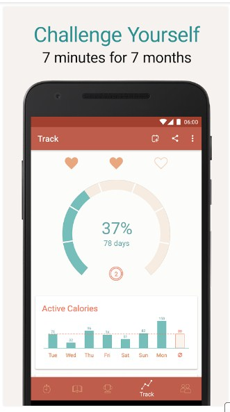 Seven – 7 Minute Workout APK for Android