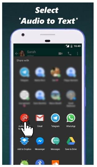 Audio to Text for WhatsApp APK for Android