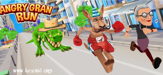 Angry Gran Run (MOD, Unlimited Coins) APK Download