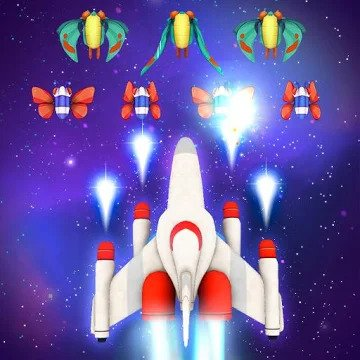 Galaga Wars (MOD, unlimited money) APK Download