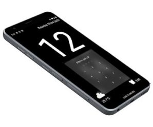 Huge Lock Screen Clock (PAID) APK For Android